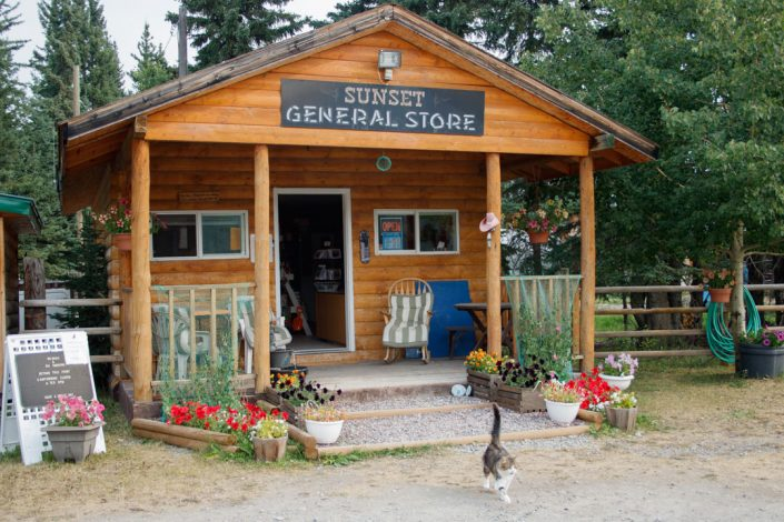 Sunset Guiding & Outfitting General Store