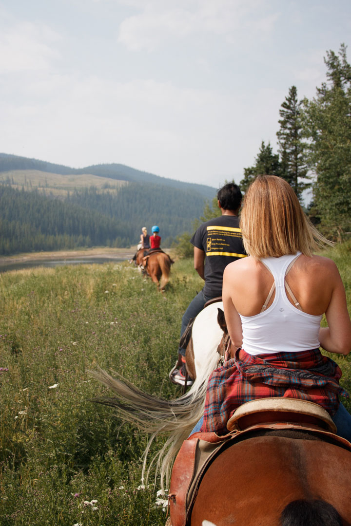 Sunset Guiding & Outfitting Trail Rides